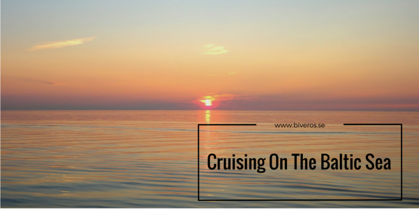 Cruising on the Baltic Sea