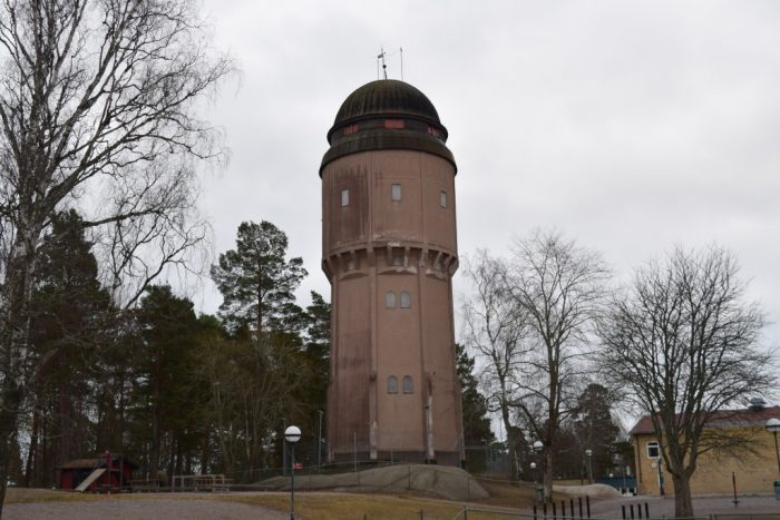 Vattentorn, Water tower, Gnesta, Södermanland, Sweden