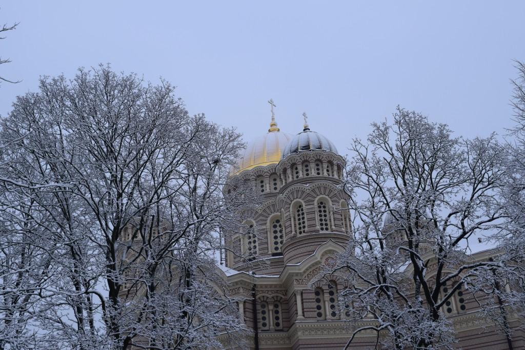 Rīgas Kristus Piedzimšanas pareizticīgo katedrāle, Riga, Latvia, 2017