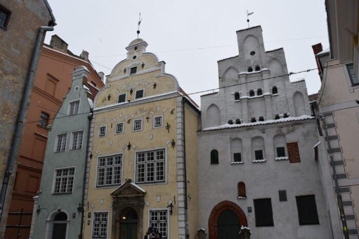 Three Brothers, Trīs brāļi, Riga, Latvia, 2017