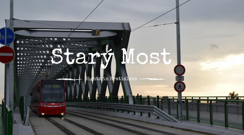 Starý Most, Sights in Bratislava, Slovakia