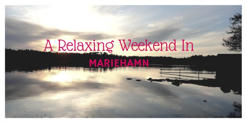 A Relaxing Weekend In Mariehamn