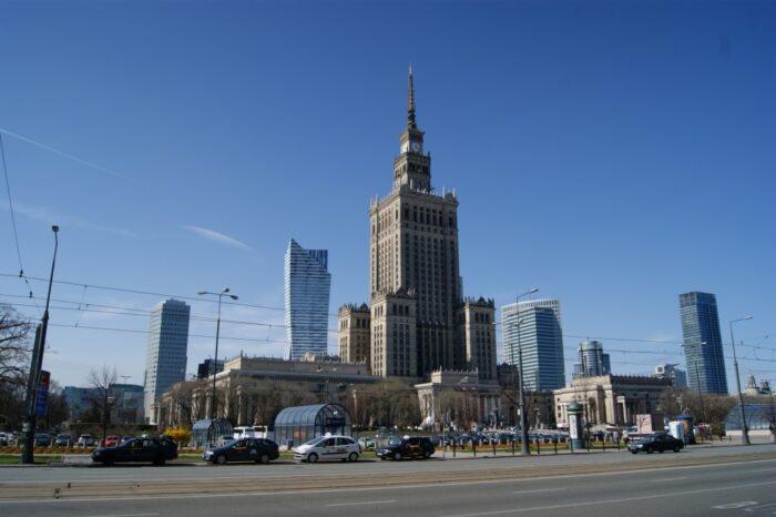 Joseph Stalin Palace of Culture and Science, Warsaw, Warszawa, Poland, Polska, Polen, 2014