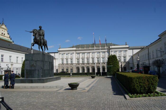 Presidential Palace, Warsaw, Pałac Prezydencki, Warszawa, Poland, Polska, Polen, 2014