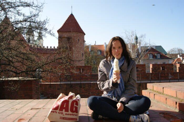 Susann, Ice Cream, Old Town, Warsaw, Stare Miasto, Warszawa, Poland, Polska, Polen, 2014