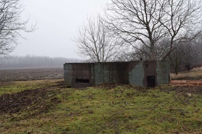 Bunker BS-9, Petržalka, Bratislava, Slovakia, Second World War