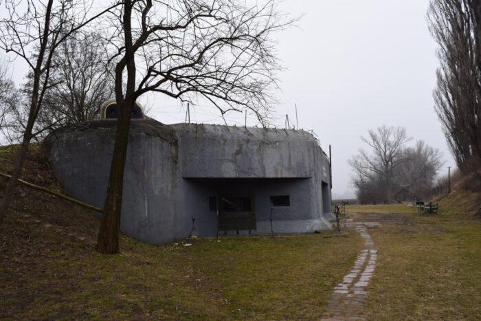 Bunker BS-8 ,Petržalka, Bratislava, Slovakia, Second World War
