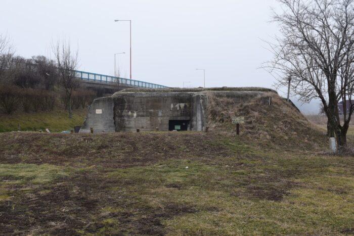 Bunker BS-6 ,Petržalka, Bratislava, Slovakia, Second World War, WWII frontier