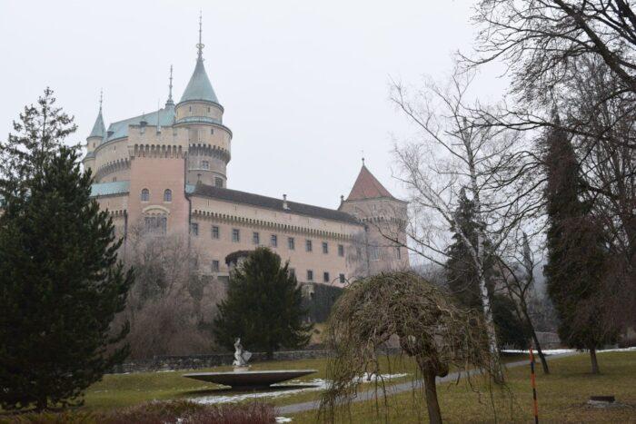 Bojnický zámok, Bojnice Castle, Bojnice, Slovakia