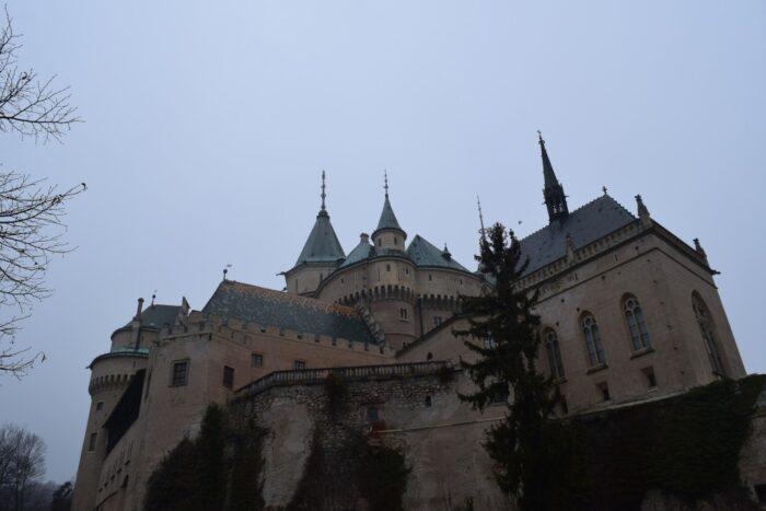 Bojnický zámok, Bojnice Castle, Bojnice, Slovakia, Driving Into the Fog
