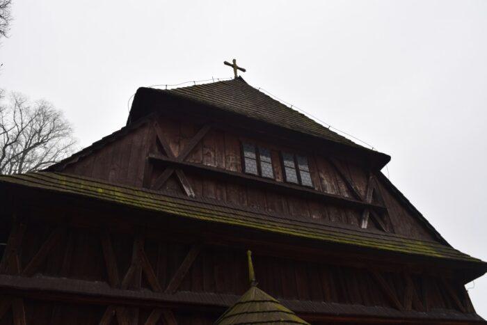 Articular wooden church of Hronsek, Artikulárny drevený kostol Hronsek, Hronsek, Slovakia, Slovensko