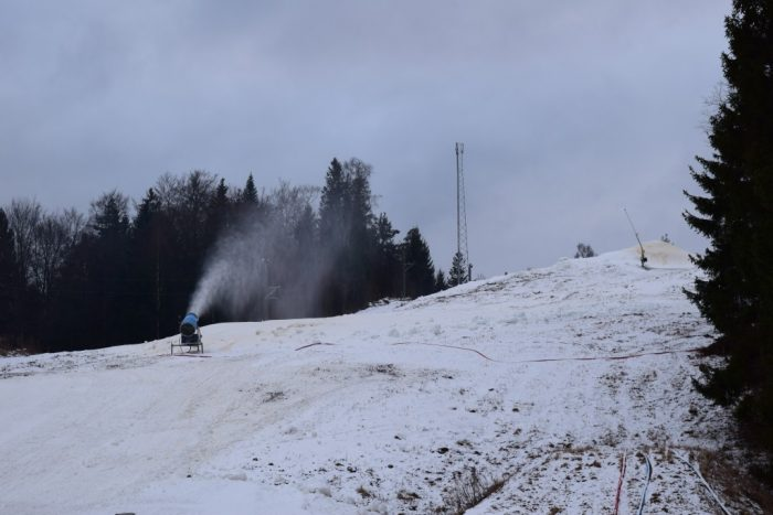 Ullared, Halland, Sweden, Sverige, Skidbacke, Ski slope, Schweden