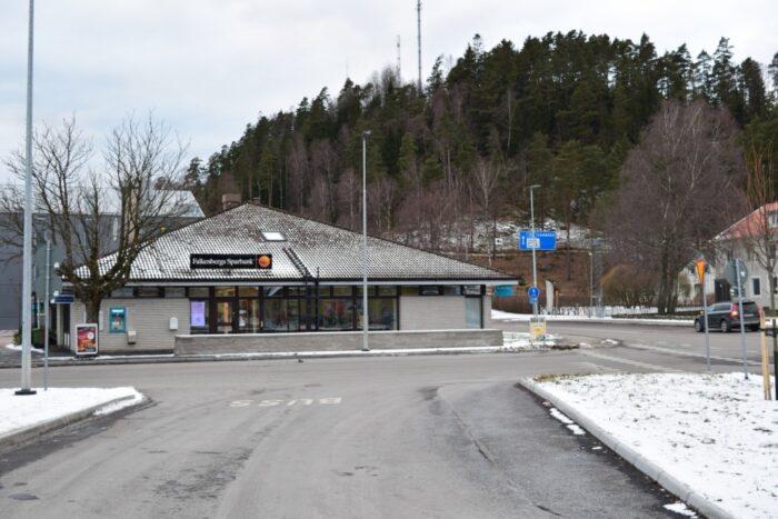 Ullared, Halland, Sweden, Sverige, Falkenbergs Sparbank