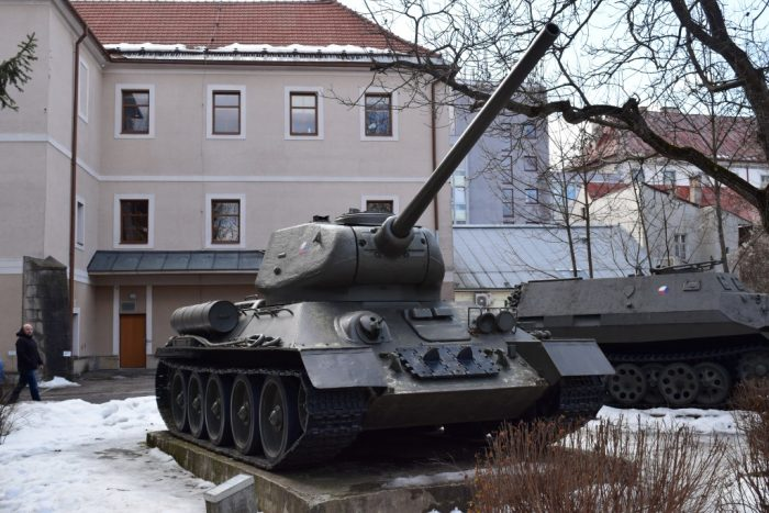 Banská Bystrica, Slovakia, Tank, Slovensko