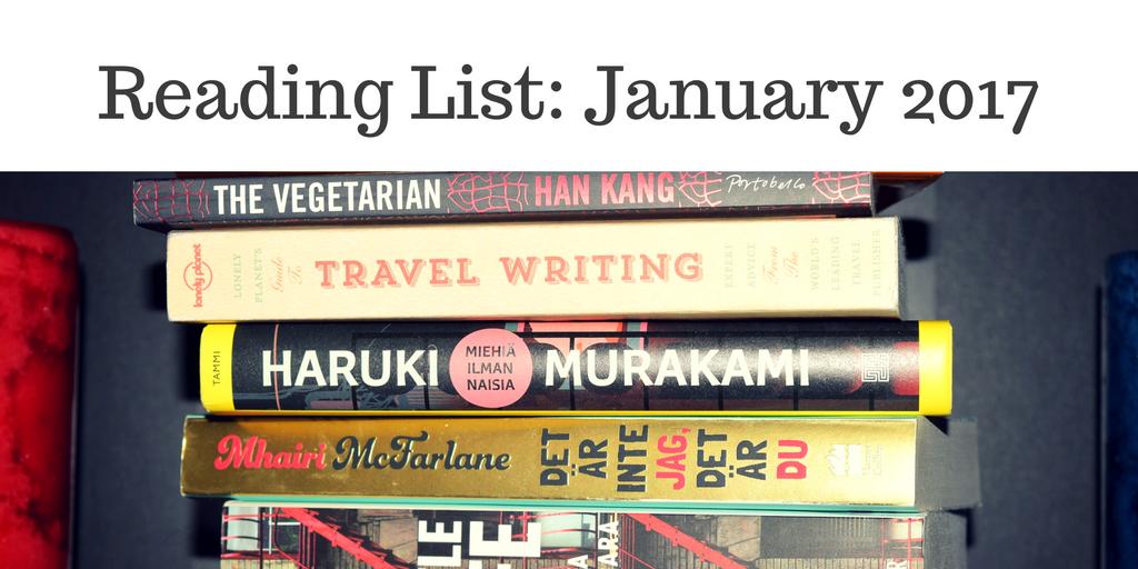 Reading List- January 2017