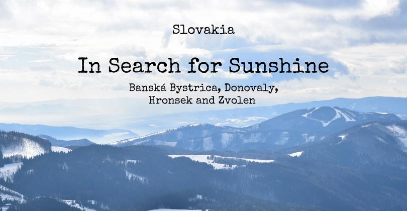 Banská Bystrica, Donovaly, Hronsek and Zvolen