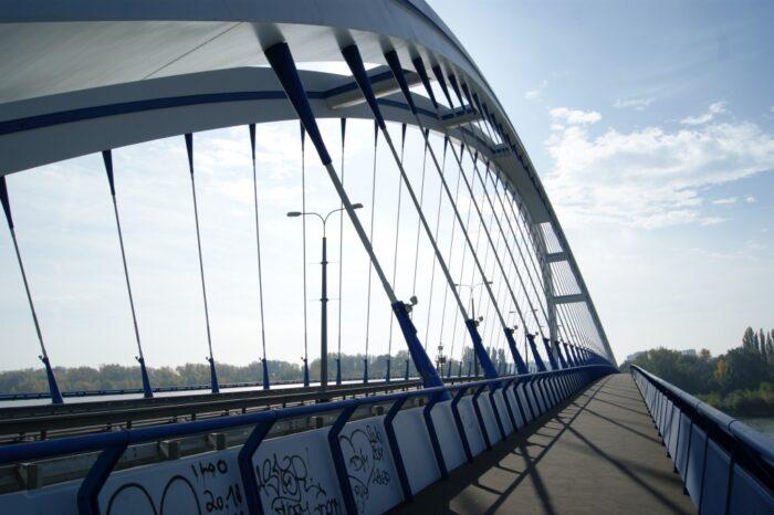 Most Apollo, Apollo Bridge, Bratislava, Slovakia, Slovensko