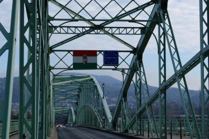 Mária Valéria Bridge, Štúrovo, Slovakia, Esztergom, Hungary