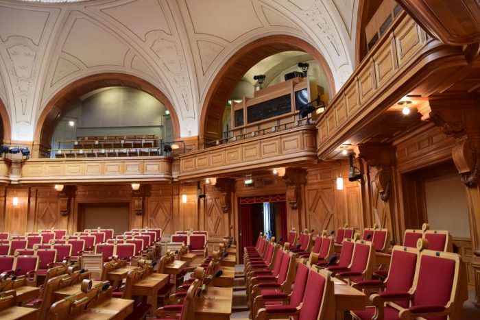 First Chamber, Första Kammaren, Swedish Riksdag, Stockholm, Sweden, Riksdagen, Riksdagshuset, Sverige