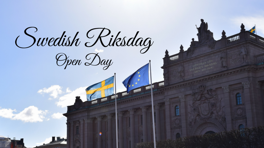 Open Day at the Swedish Riksdag