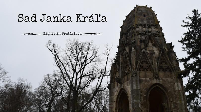Sights in Bratislava, Sad Janka Kráľa, Slovensko, Slovakia, Slovakien