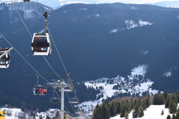 Donovaly, Banskobystrický kraj, Slovakia, Cable Car, TELEMIX Nová hoľa chairlift