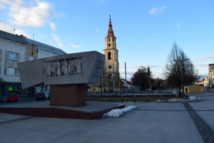 Zvolen, Slovakia, Námestie SNP