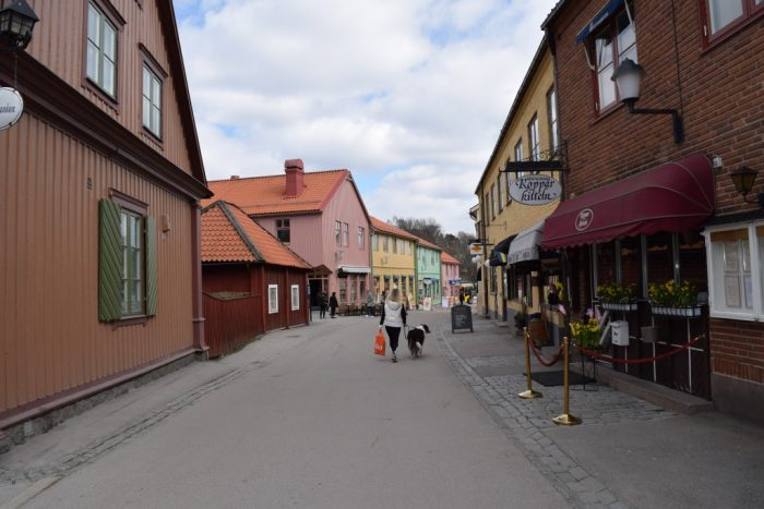 Sigtuna, Uppland, Sweden, Stora gatan
