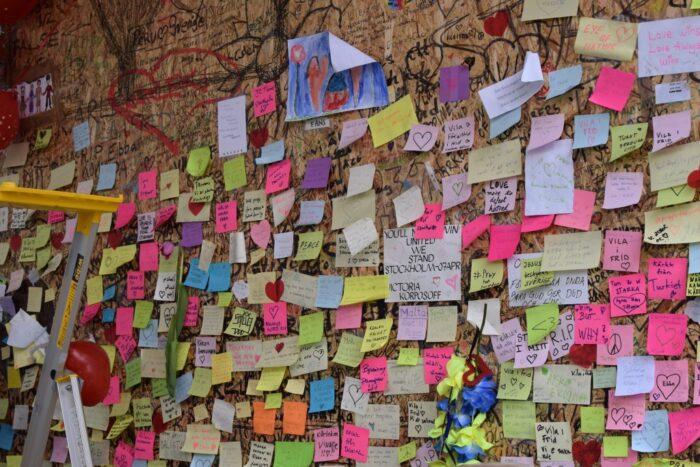 Drottninggatan, Stockholm, Sweden, Notes, Terrorist Attack