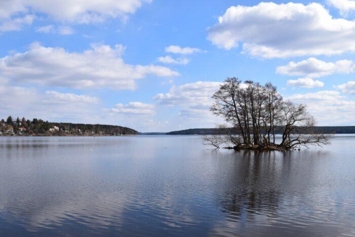 Sigtuna, Uppland, Sweden, Lake Mälaren
