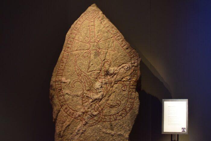 Historiska museet, Swedish History Museum, Stockholm, Sweden, Rune Stone, Vikings