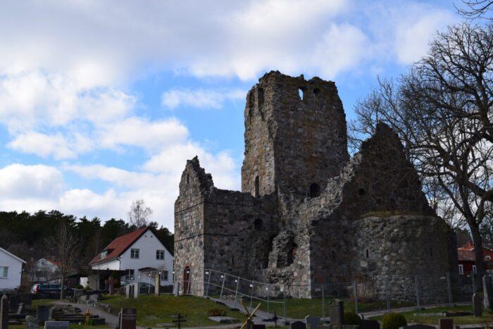 Sankt Olofs kyrkoruin, Sigtuna, Uppland, Sweden