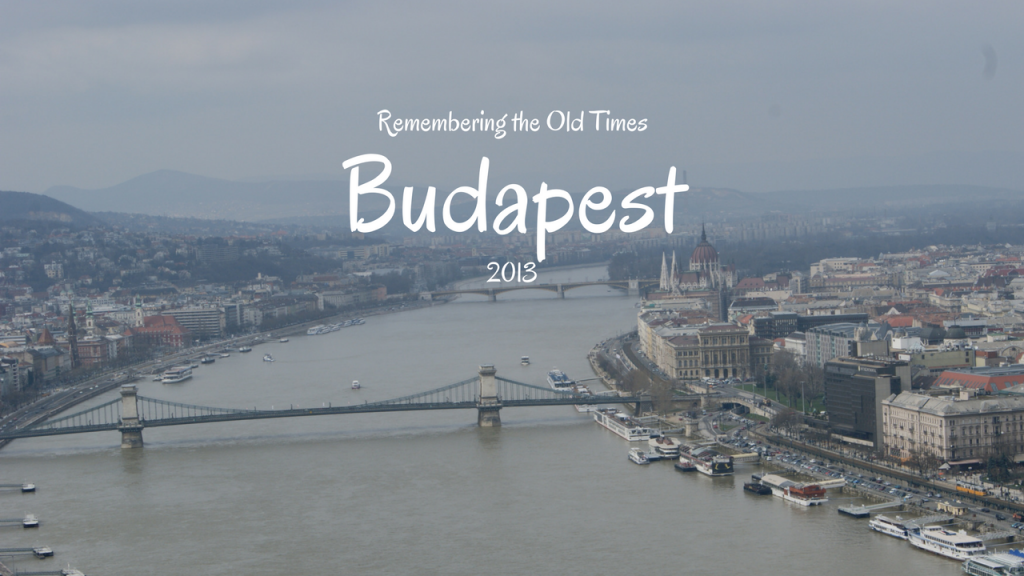 Remembering the Old Times, Budapest, Hungary, 2013