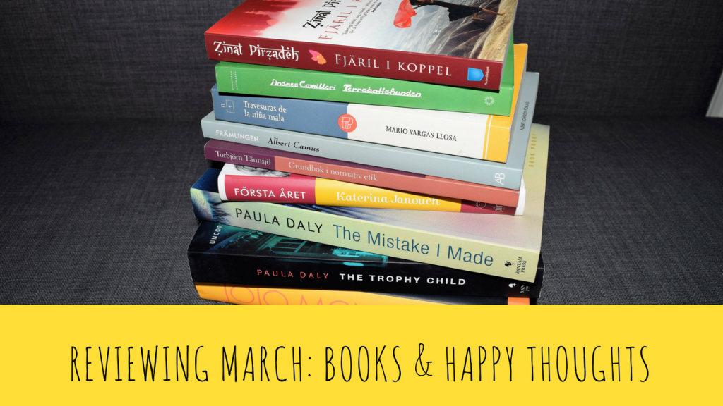 Reviewing March: Books and Happy Thoughts