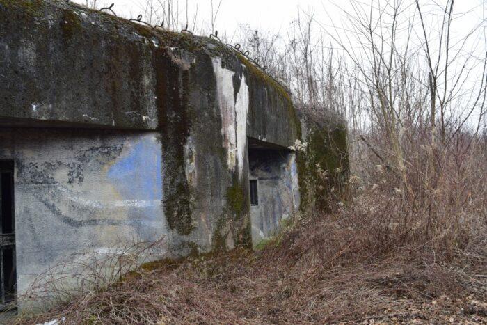"Sights in Bratislava, Bunker BS-3 ""Paseka"", Slovakia"