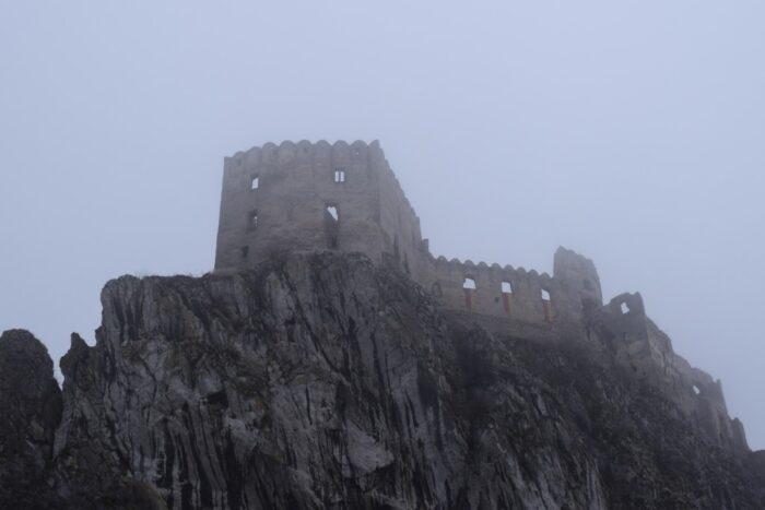 Beckov Castle, Beckovský hrad, Slovakia,