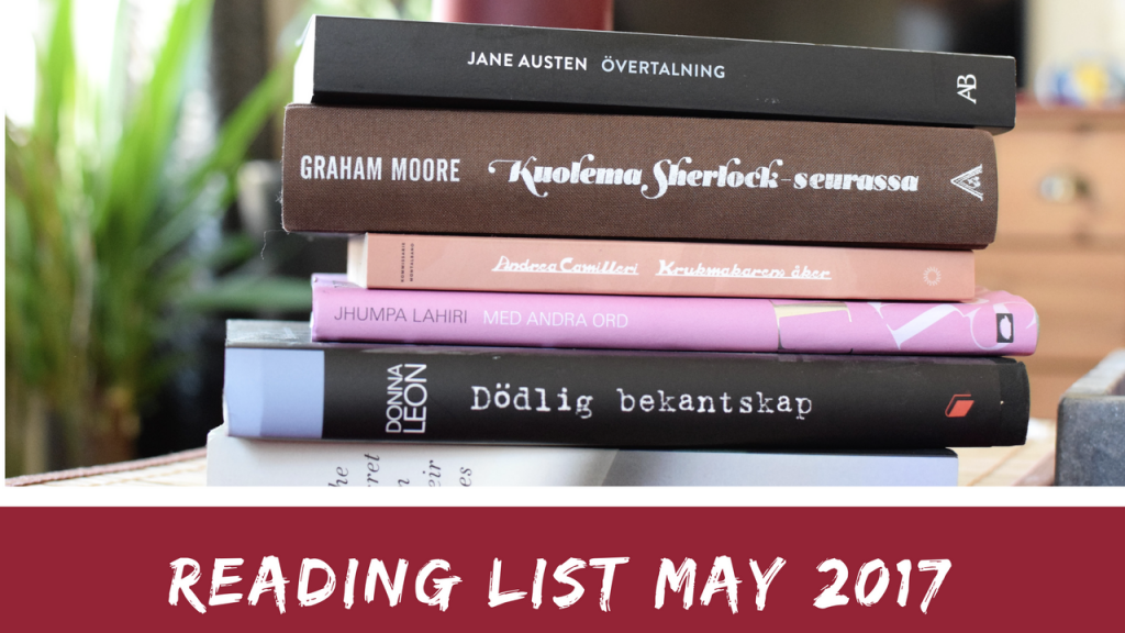 Reading list May 2017