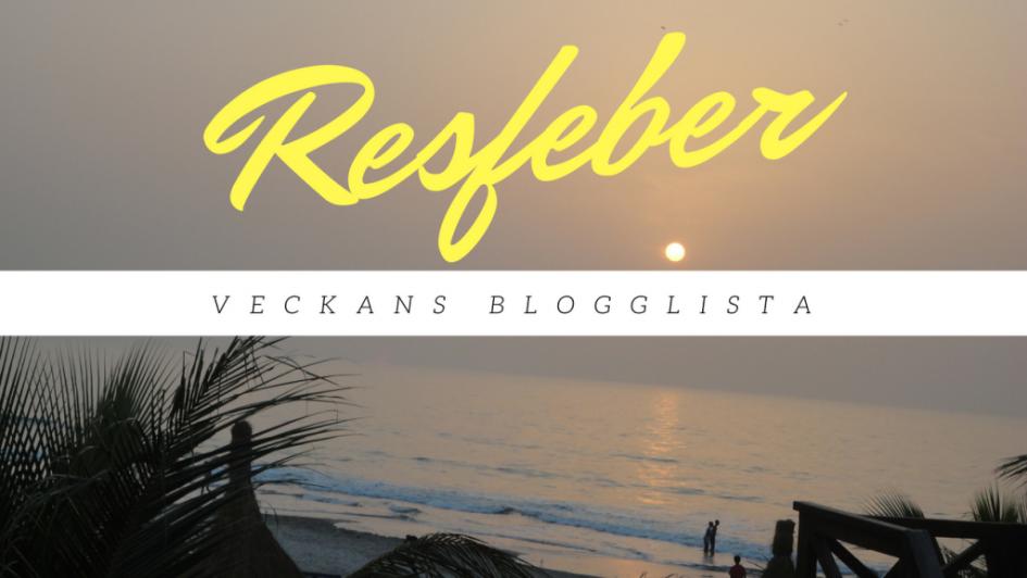 resfeber, reseblogg