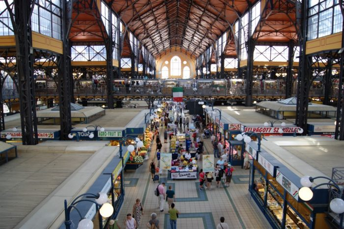 Nagy vásárcsarnok, Great Market Hall, Budapest, Hungary, 2013