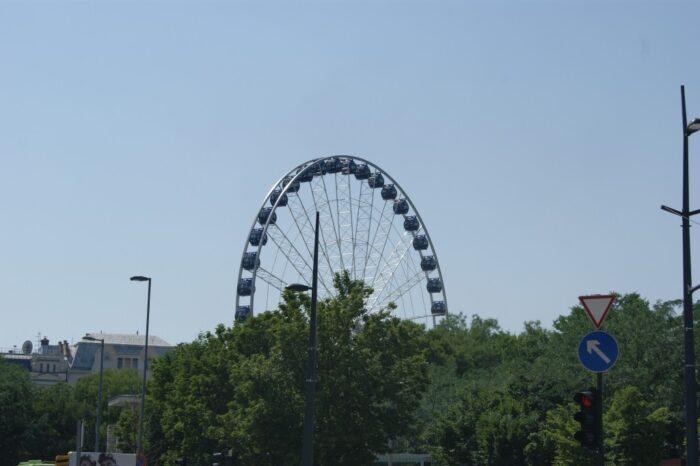 Ferries Wheel, Budapest, Hungary, 2013