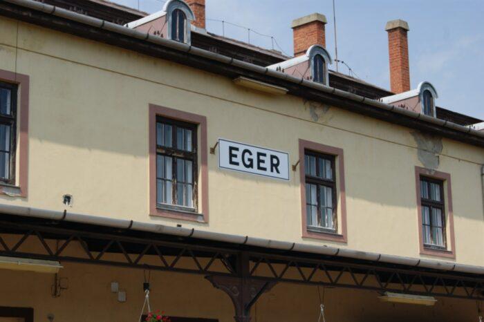 Train Station, Eger, Hungary, 2013