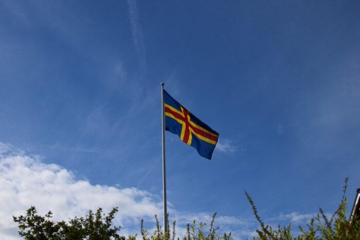 midsummer 2017, åland, flag