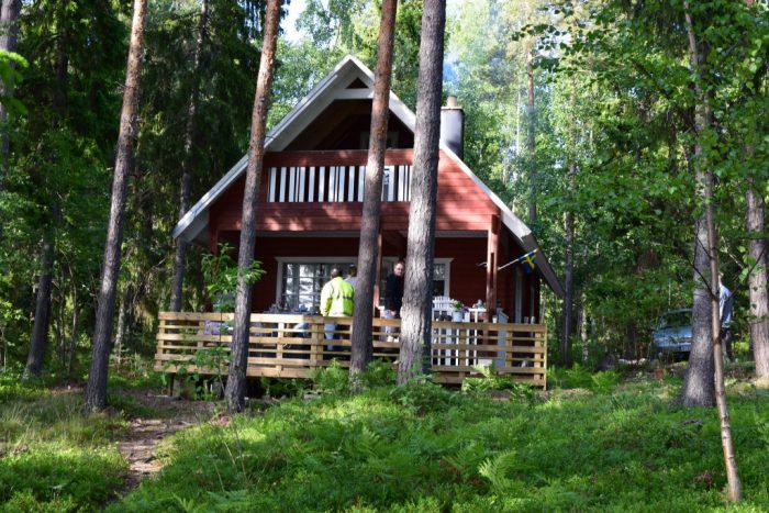 midsummer, finland, cottage