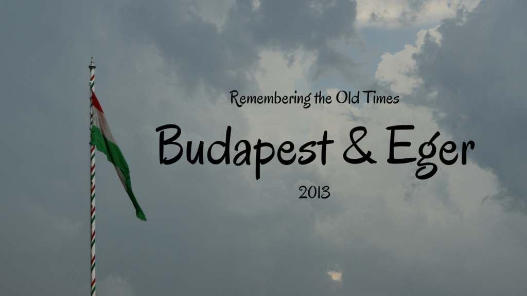 Remembering the Old Times, Budapest, Eger, Hungary, 2013