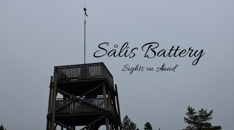 Sålis Battery, Sålis batteriberg, Sålis batteri, Sights on Åland, Finland