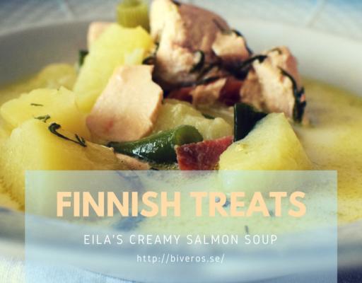 Eila's Fabulous Finnish Salmon Soup