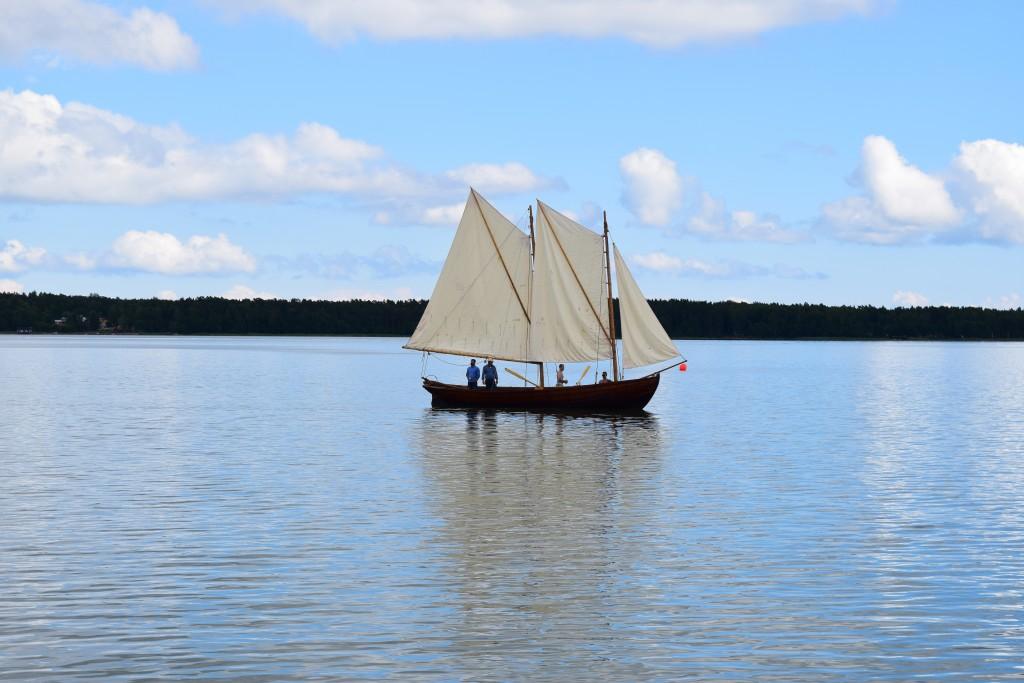 Sjödagarna, allmogebåt, Mariehamn, Weekend on Åland