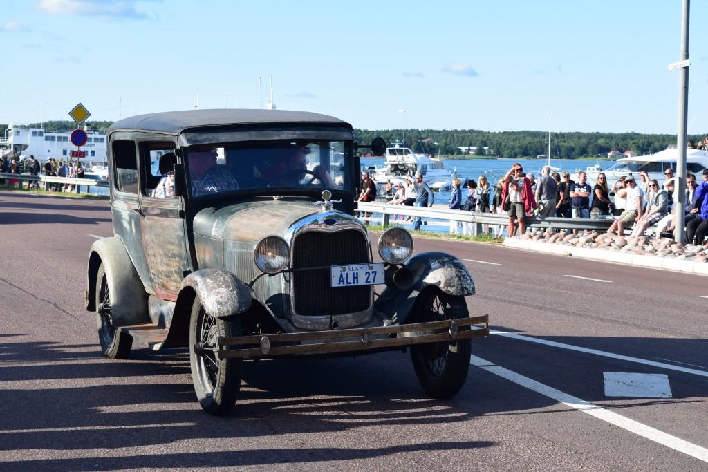 Veteranbil, Åland