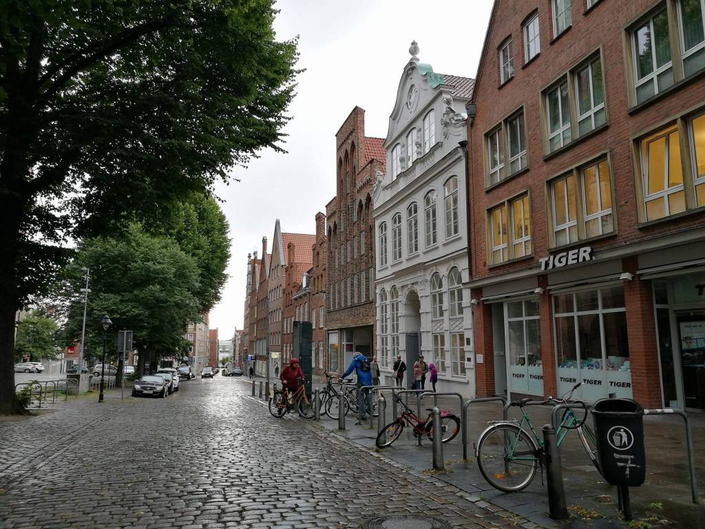 Lübeck, Germany, Buddenbrookhaus, Mengstraße 4