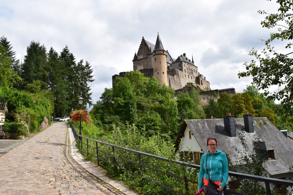 On the Road 2017, Vianden, Luxembourg, Susann, Vianden Castle